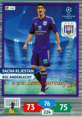 2013-14 - Adrenalyn XL champions League N° 290 - Sacha KLJESTAN (RSC Anderlecht) (Fans' Favourite)