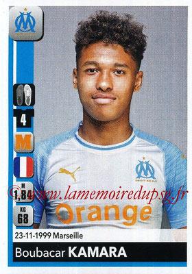 2018-19 - Panini Ligue 1 Stickers - N° 210 - Boubakar KAMARA (Marseille)