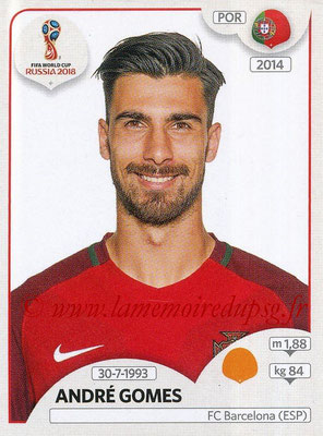 2018 - Panini FIFA World Cup Russia Stickers - N° 125 - André GOMES (Portugal)