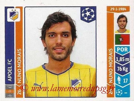 2014-15 - Panini Champions League N° 476 - Nuno MORAIS (Apoel FC)