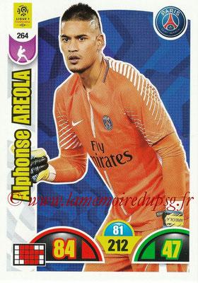 2018-19 - Panini Adrenalyn XL Ligue 1 - N° 264 - Alphonse AREAOLA (Paris Saint-Germain)
