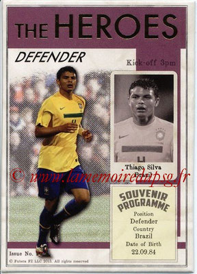 N° HER12 - Thiago SILVA (2012-??, PSG > 2013, Brésil) (Defender) (The Heroes)