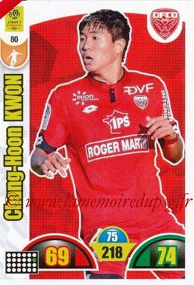 2018-19 - Panini Adrenalyn XL Ligue 1 - N° 080 - Chang-Hoon KWON (Dijon)