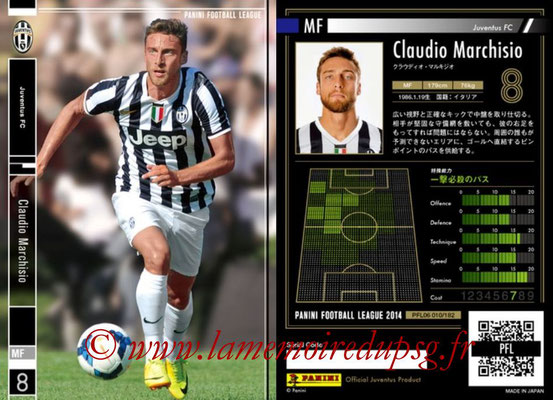 Panini Football League 2014 - PFL06 - N° 010 - Claudio MARCHISIO (Juventus FC)
