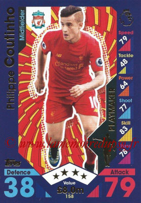 2016-17 - Topps Match Attax Premier League - N° 158