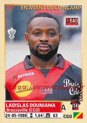 2014-15 - Panini Ligue 1 Stickers - N° 116 - Ladislas DOUNIAMA (EA Guingamp)