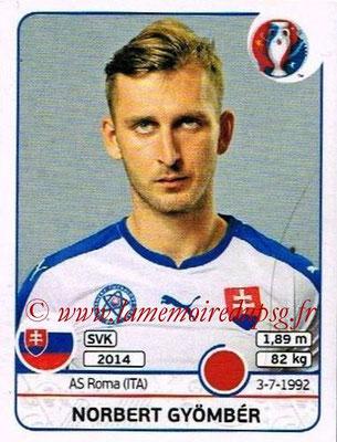 Panini Euro 2016 Stickers - N° 217 - Norbert GYOMBER (Slovénie)