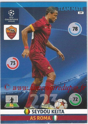 2014-15 - Adrenalyn XL champions League N° 219 - Seydou KEITA (AS Roma)