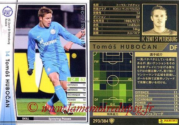 2012-13 - WCCF - N° 293 - Tomas HUBOCAN (FC  Zenit)