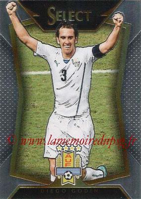 2015 - Panini Select Soccer - N° 051 - Diego GODIN (Uruguay)