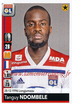 2018-19 - Panini Ligue 1 Stickers - N° 189 - Tanguy NDOMBELE (Lyon)