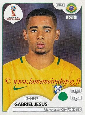 2018 - Panini FIFA World Cup Russia Stickers - N° 370 - Gabriel JESUS (Bresil)