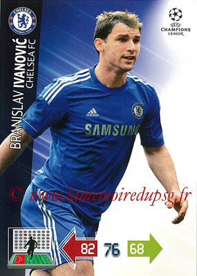 2012-13 - Adrenalyn XL champions League N° 083 - Branislav IVANOVIC (Chelsea FC)