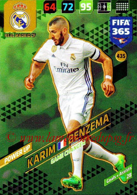 2017-18 - Panini FIFA 365 Cards - N° 435 - Karim BENZEMA (Real Madrid CF) (Game Changer)