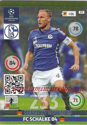 2014-15 - Adrenalyn XL champions League N° 277 - Benedikt HOWEDES (FC Schalke 04) ( Fans' Favourite)