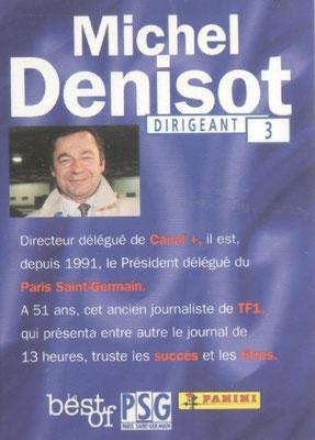N° 003 - Michel DENISOT (Verso)