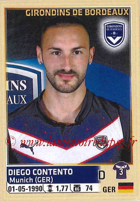 2014-15 - Panini Ligue 1 Stickers - N° 030 - Diego CONTENTO (Girondins de Bordeaux)