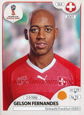 2018 - Panini FIFA World Cup Russia Stickers - N° 387 - Gelson FERNANDES (Suisse)
