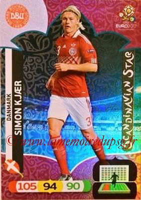 Panini Euro 2012 Cards Adrenalyn XL - N° 306 - Simon KJAER (Danemark) (Scandinavian Star) (Nordic Edition)