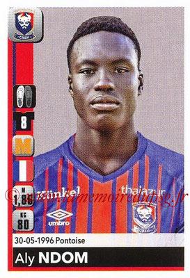 2018-19 - Panini Ligue 1 Stickers - N° T08 - Aly NDOM (Caen) (Transfert)
