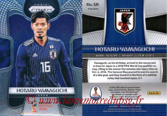 2018 - Panini Prizm FIFA World Cup Russia - N° 121 - Hotaru YAMAGUCHI (Japon)