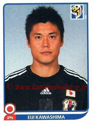 2010 - Panini FIFA World Cup South Africa Stickers - N° 374 - Eiji KAWASHIMA (Japon)