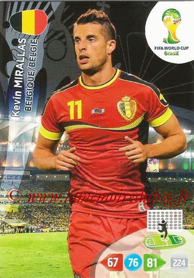 2014 - Panini FIFA World Cup Brazil Adrenalyn XL - N° 035 - Kevin MIRALLAS (Belgique)