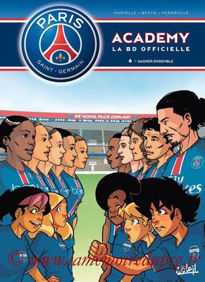 2015-11-12 - PSG Academy, Tome 6 (Soleil, 40 pages)