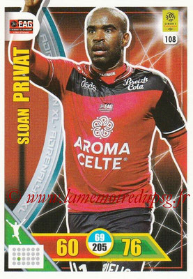 2017-18 - Panini Adrenalyn XL Ligue 1 - N° 108 - Sloan PRIVAT (Guingamp)