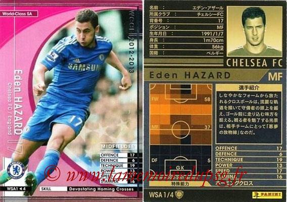 2012-13 - WCCF - N° WSA1 - Eden HAZARD (Chelsea FC) (World Class SA)