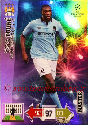 2012-13 - Adrenalyn XL champions League N° 335 - Yaya TOURE (Manchester City FC) (Master)