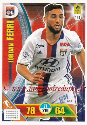 2017-18 - Panini Adrenalyn XL Ligue 1 - N° 142 - Jordan FERRI (Lyon)