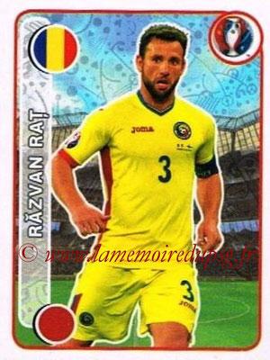 Panini Euro 2016 Stickers - N° 043 - Razvan RAT (Roumanie)