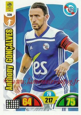 2018-19 - Panini Adrenalyn XL Ligue 1 - N° 339 - Anthony GONCALVES (Strasbourg)