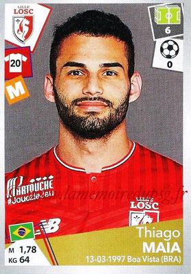 2017-18 - Panini Ligue 1 Stickers - N° 170 - Thiago MAIA (Lille)