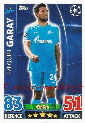 2015-16 - Topps UEFA Champions League Match Attax - N° 258 - Ezequiel GARAY (FC Zenit)
