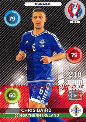 Panini Euro 2016 Cards - N° 212 - Chris BAIRD (Irlande du Nord)