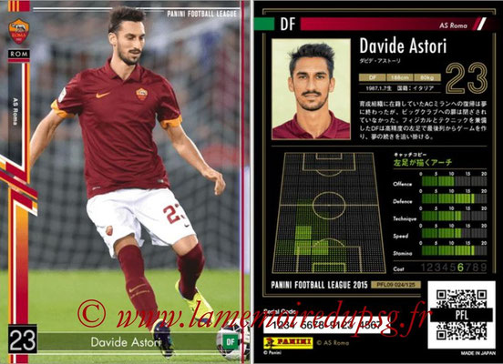 Panini Football League 2015 - PFL09 - N° 024 - Davide ASTORI (AS Rome)