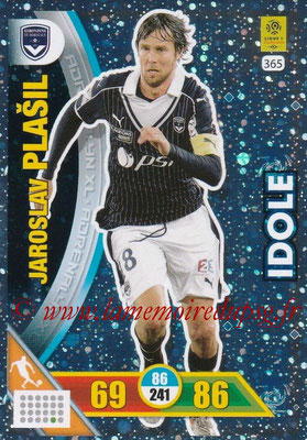 2017-18 - Panini Adrenalyn XL Ligue 1 - N° 365 - Jaroslav PLASIL (Bordeaux) (Idole)