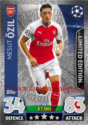 2015-16 - Topps UEFA Champions League Match Attax - N° LE6 - Mesut ÖZIL (Arsenal FC) (Limited Edition Silver)