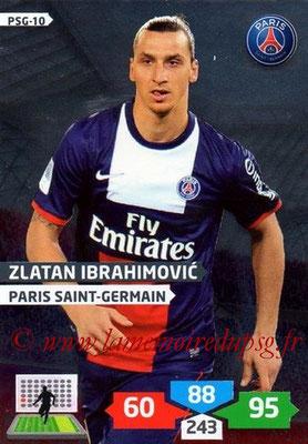 N° PSG-10 - Zlatan IBRAHIMOVIC (Brillante)