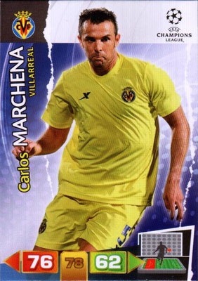 2011-12 - Panini Champions League Cards - N° 259 - Carlos MARCHENA (Villarreal)
