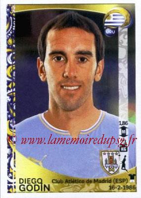 Panini Copa America Centenario USA 2016 Stickers - N° 238 - Diego GODIN (Uruguay)