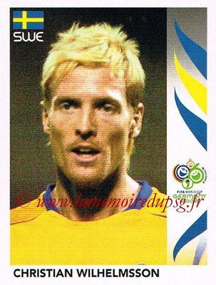 2006 - Panini FIFA World Cup Germany Stickers - N° 163 - Christian WILHELMSSON (Suède)