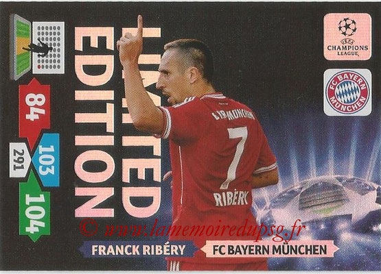 2013-14 - Adrenalyn XL champions League N° LE16 - Franck RIBERY (FC Bayern Munich) (Limited Edition)