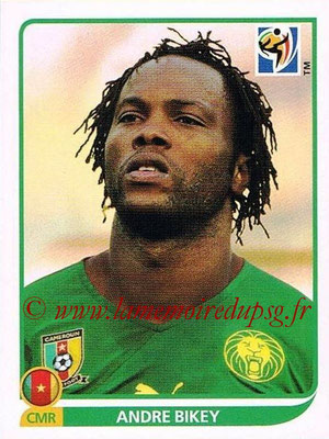 2010 - Panini FIFA World Cup South Africa Stickers - N° 395 - Andre BIKEY (Cameroun)