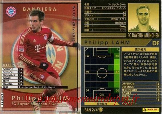 2012-13 - WCCF - N° BAN2 - Phillip LAHM (FC Bayern Munich) (Bandiera)