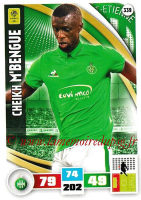 2016-17 - Panini Adrenalyn XL Ligue 1 - N° 339 - Cheikh M'BENGUE (Saint-Etienne)