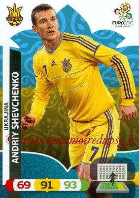 Panini Euro 2012 Cards Adrenalyn XL - N° 224 - Andriy SHEVCHENKO (Ukraine)