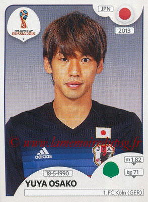 2018 - Panini FIFA World Cup Russia Stickers - N° 671 - Yuya OSAKO (Japon)